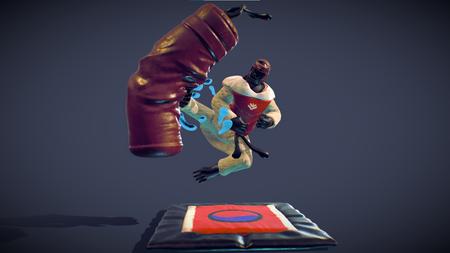Taekwondoin Kick