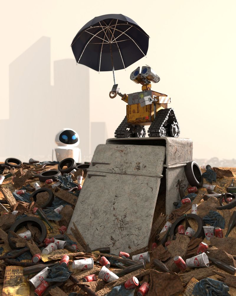 Wall-e meets Monet