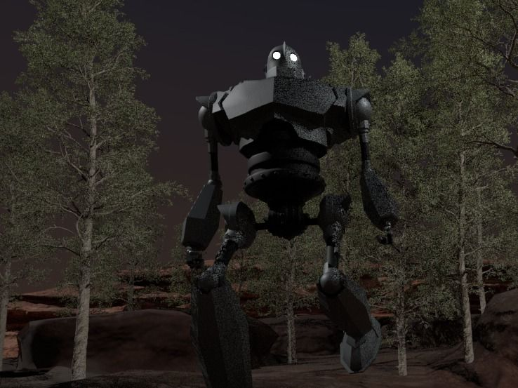 Iron Giant Animation
