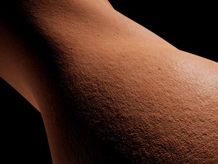 Procedural Human skin materials