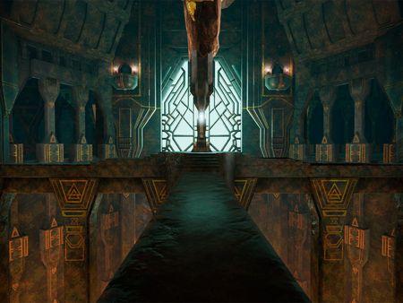 The great halls of Erebor