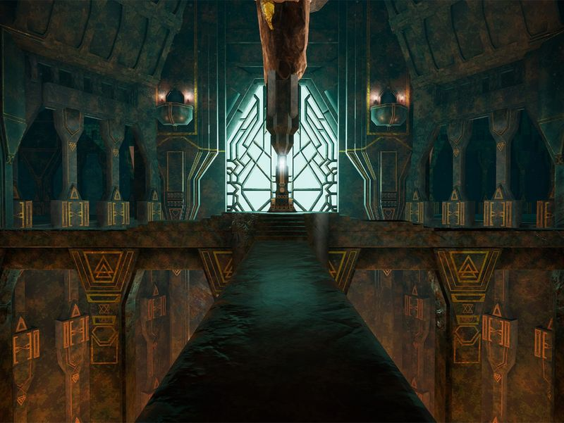 The great halls of Erebor