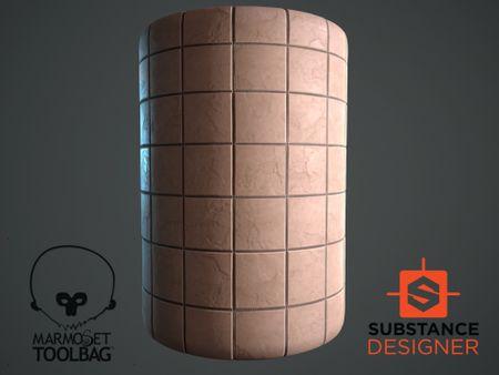 PBR procedural Tiles