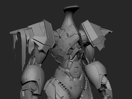 Hue Teo Knight - fan art sculpt