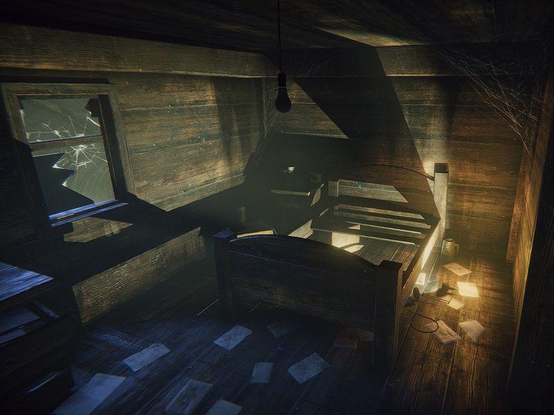 Realtime Unity Horror Environment Interiors