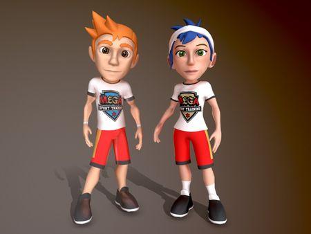 MEGA Sports training Kinect game