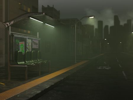 Mysterious Bus Stop