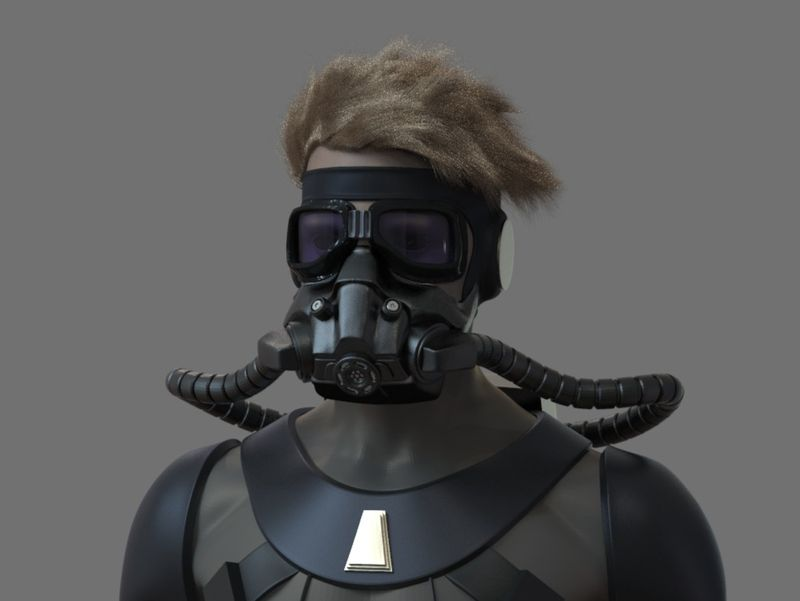 WIP Luke Skywalker Mcquarrie Concept