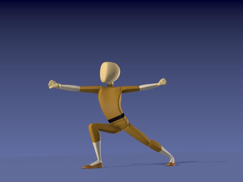 Kung Fu animation