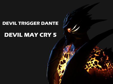Devil Trigger Dante ( Devil May Cry 5 ) Fan Art