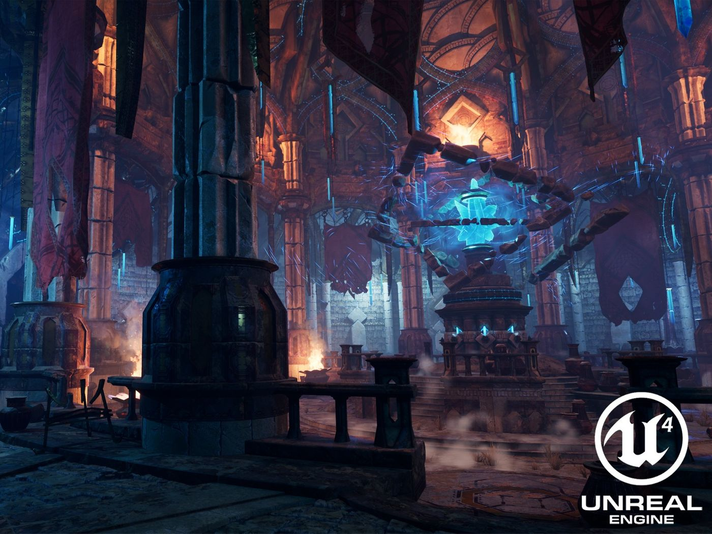 Old Sanctuary - Real-Time Environment on UE4
