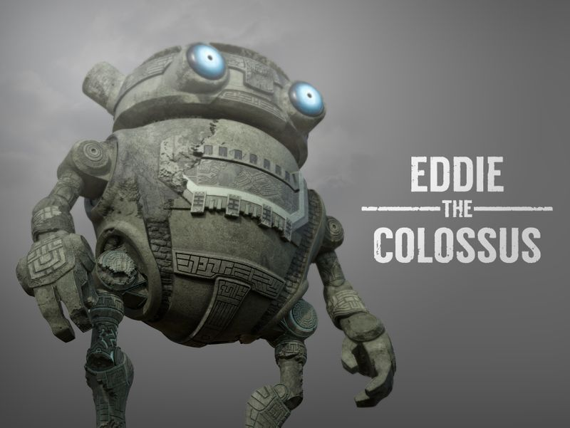 Eddie Robot - Eddie the Colossus