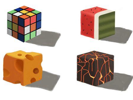 Texture Cube