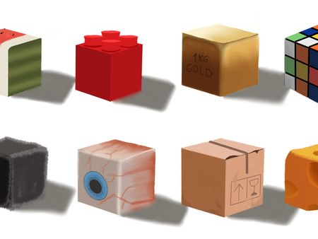 Texture Cube || RookiesWeeklyDrills