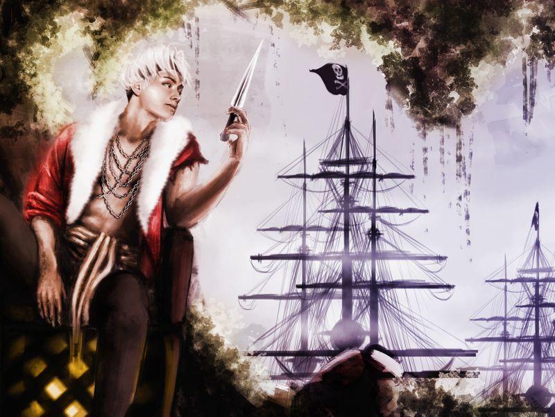 Pirates concept art