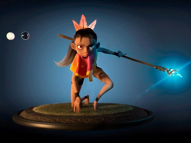 Ana Kaona 3D Model