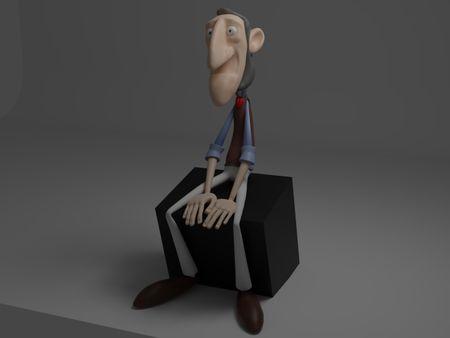 Retopology - Old Man