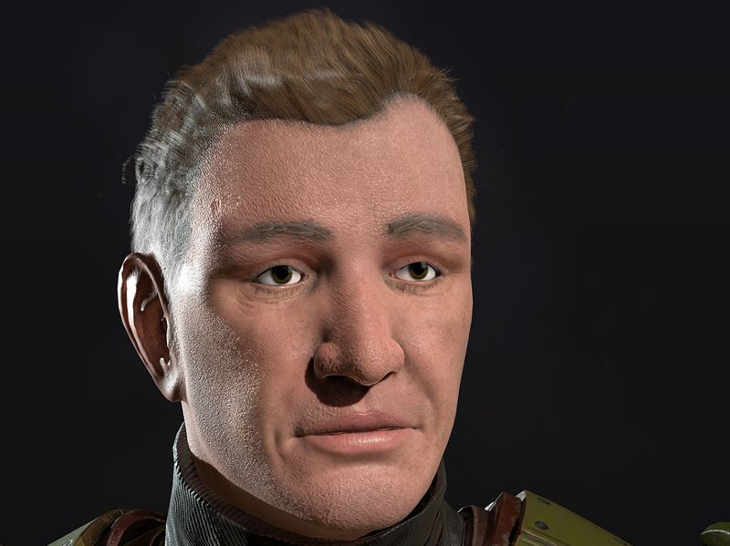 SGT. Blum Game Ready Character Model