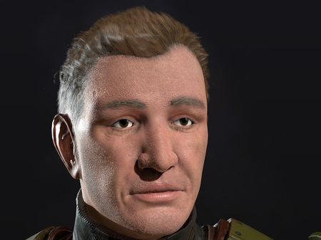 SGT. Blum Game Ready Character
