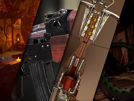 3D Weapons & Environments