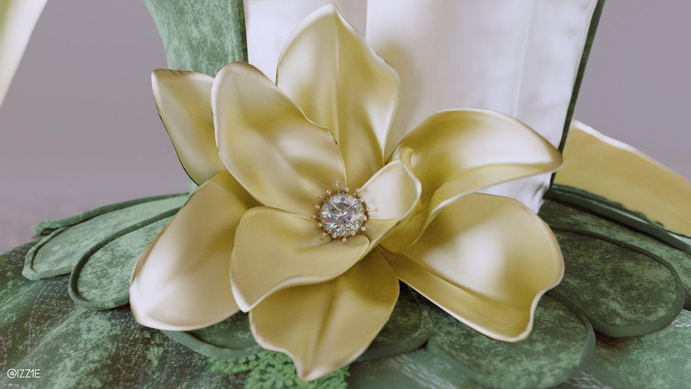 Magnolia Brooch Izz1e