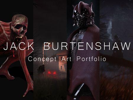 Jack Burtenshaw - Concept Art