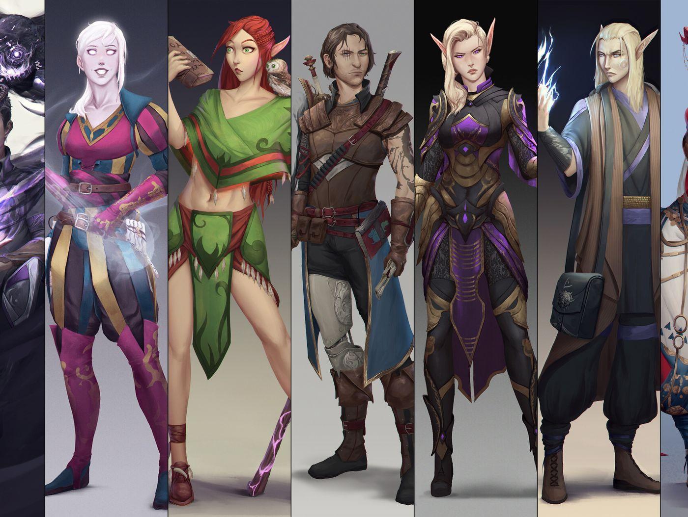 Character Concept Art: Jack Meng Kirkman