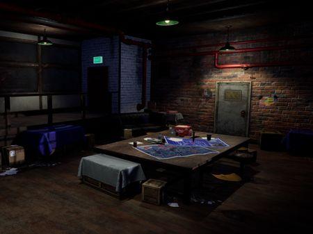 Heist Prep Room
