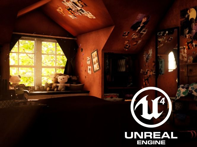 "The Last of Us Fan Art Environment from ""Remembering"" Artwork"