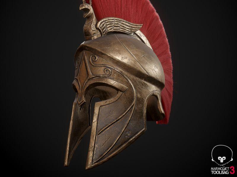 Assassins Creed Odyssey fan art- Realtime