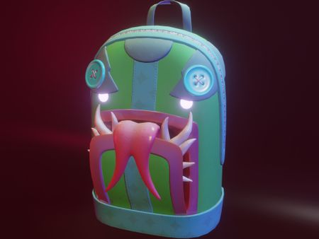 Mimic Backpack!  (Fortnite Back Bling)