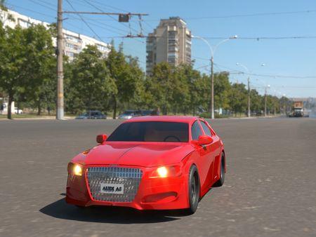 Audi A8- 3D Model
