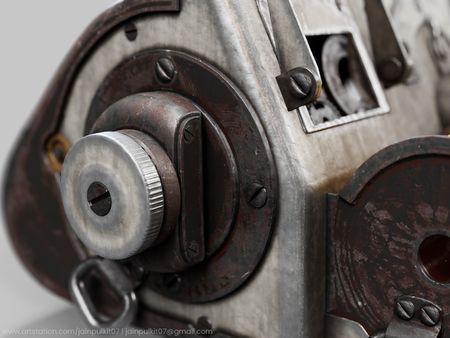 Vintage Bus Ticket Dispenser