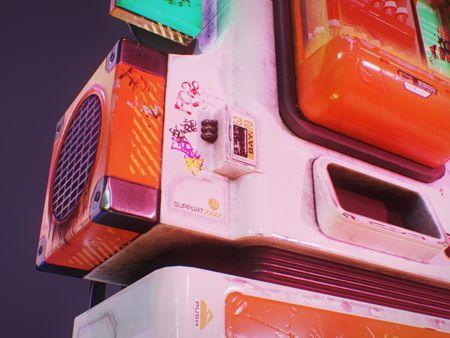 Bio-Medical Cyberpunk Vending Machine