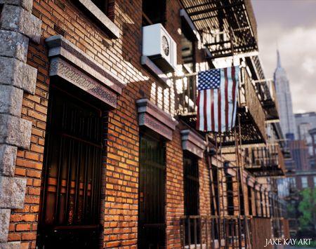 New York Side Street