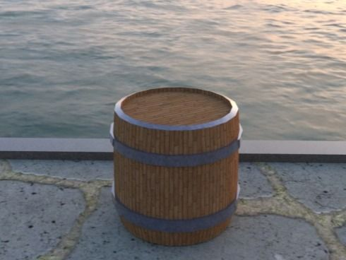 Pirate Tavern Themed Barrel