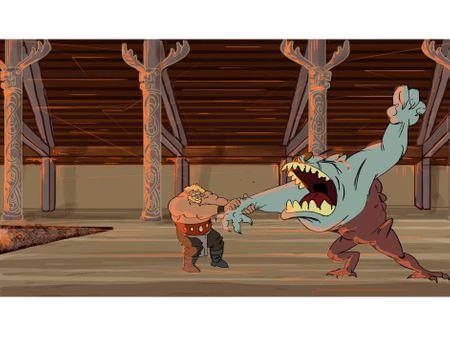 beowulf vs. grendel 2d animation