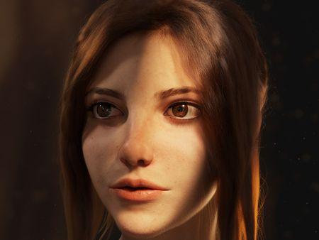 Freya - 3D Portrait