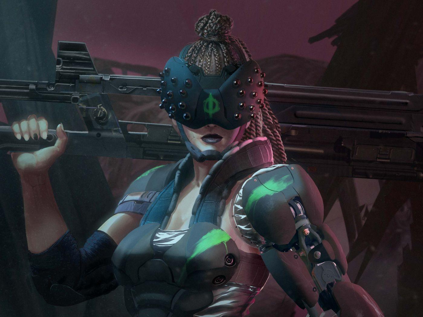 CyberMercs part 1: Female Cyber Mercenaries