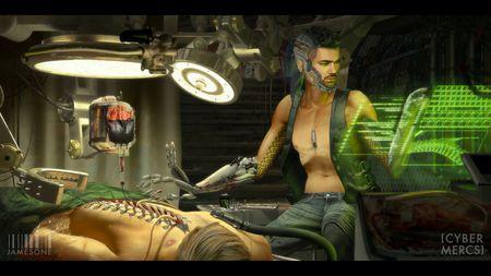 CyberMercs part 2: Black Market Surgeon