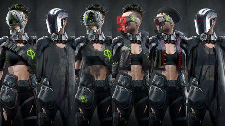CyberMercs part 5: Loui's Final front Concepts
