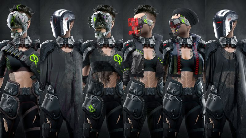 CyberMercs part 5: Loui's Final front Concepts