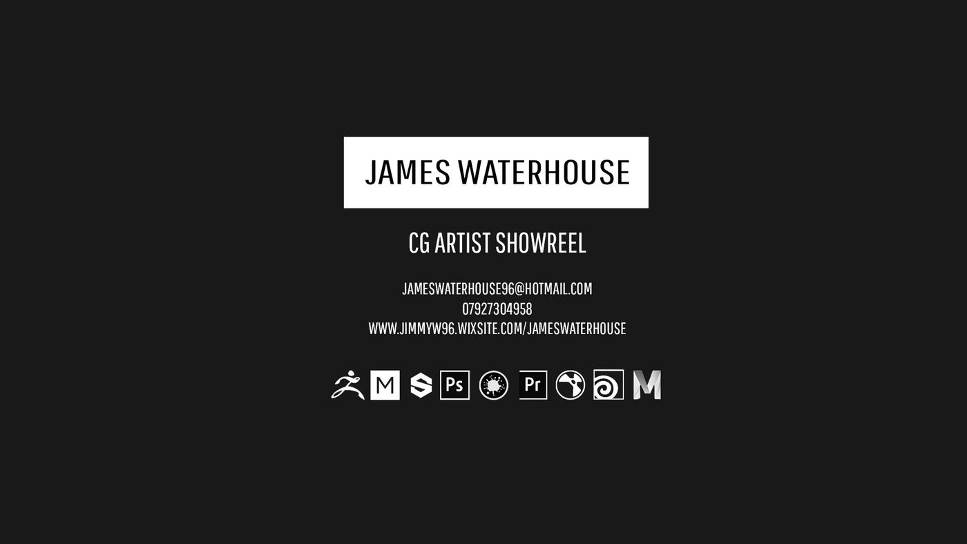 James Waterhouse CG Showreel 2019