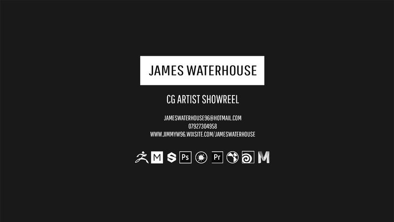 James Waterhouse CG Showreel 2019
