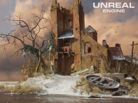 Dutch Ruin UE4