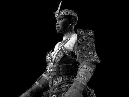 Mona - Female Warrior Game Character
