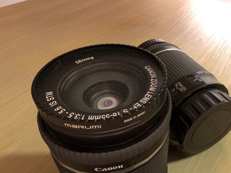 Weekly Drill #004- Canon Lens