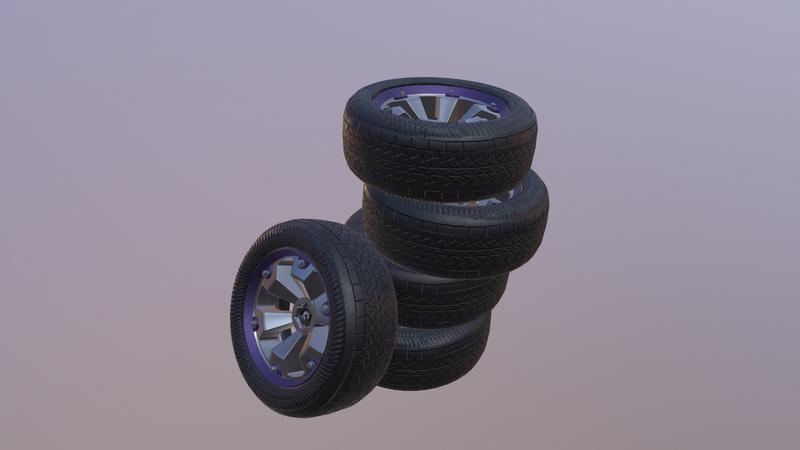 Weekly Drill 06- Car Wheel