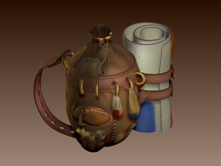 Weekly Drill 07- Stylised Travel Bag