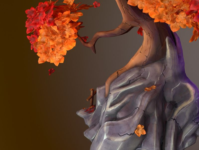 Weekly Drill 08- Stylised Tree